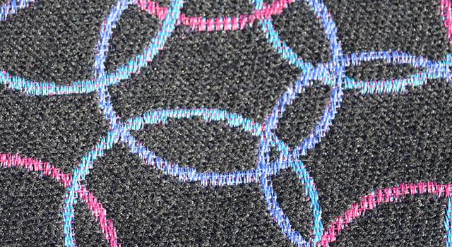 ART 1608 OLIMPIA Cadena Multicolor (Negro)